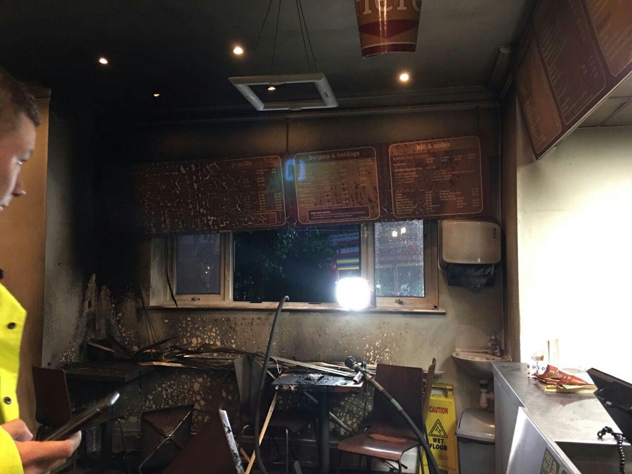 10 חודשים אחרי השריפה: המסעדה נפתחה מחדש