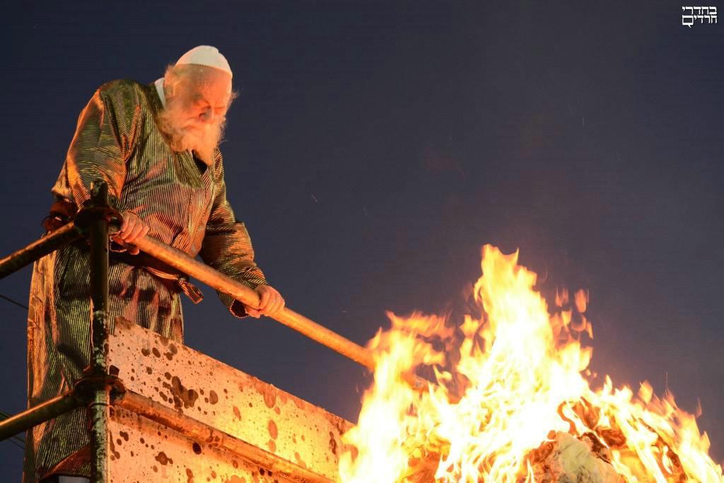 וידאו נדיר: שרעפי קודש בתולדות אהרן
