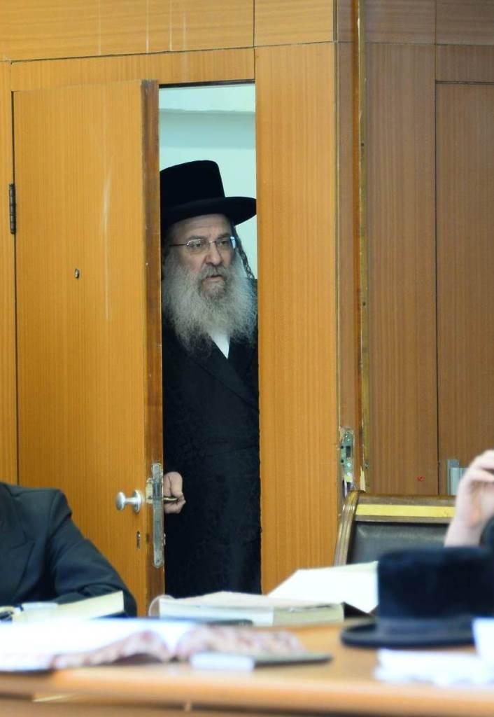הרבי פתח את הדלת והתפעל מהלומדים