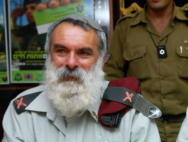 הרב הצבאי הראשי לשעבר הלך לעולמו בגיל 66