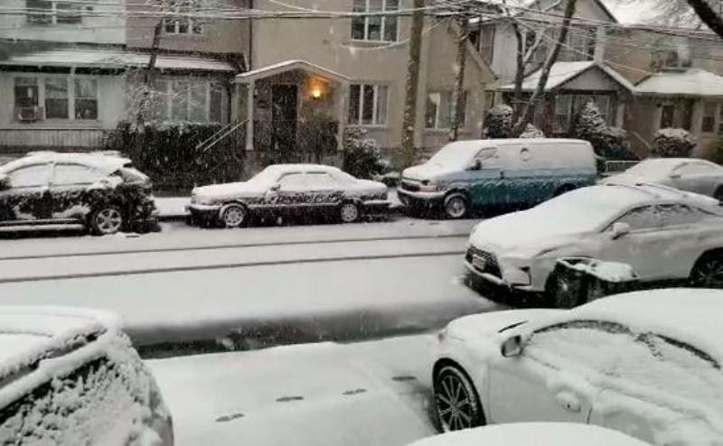 מתנת אפיקומן נדירה: שלג יורד בחג הפסח