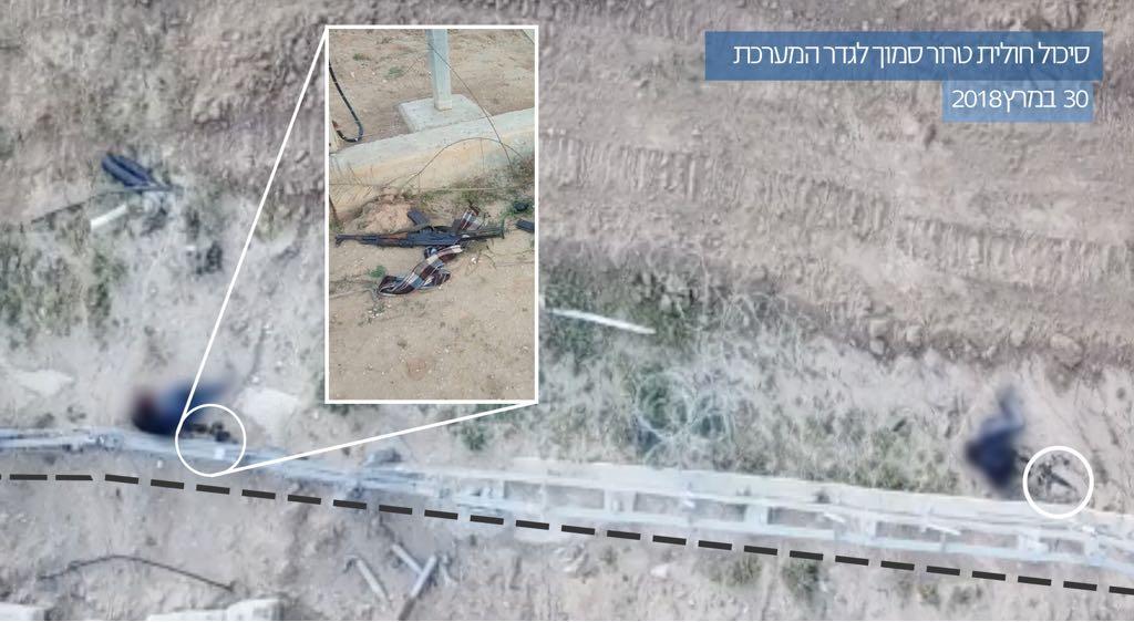צפו: סוכל פיגוע ירי בגבול רצועת עזה; 5 נהרגו