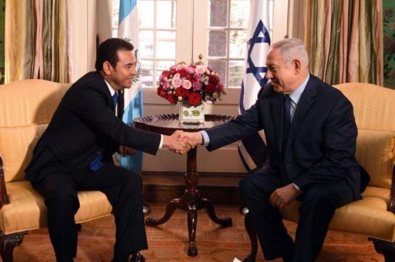 העברה מידבקת: גואטמלה סיכמה על העברת השגרירות לירושלים