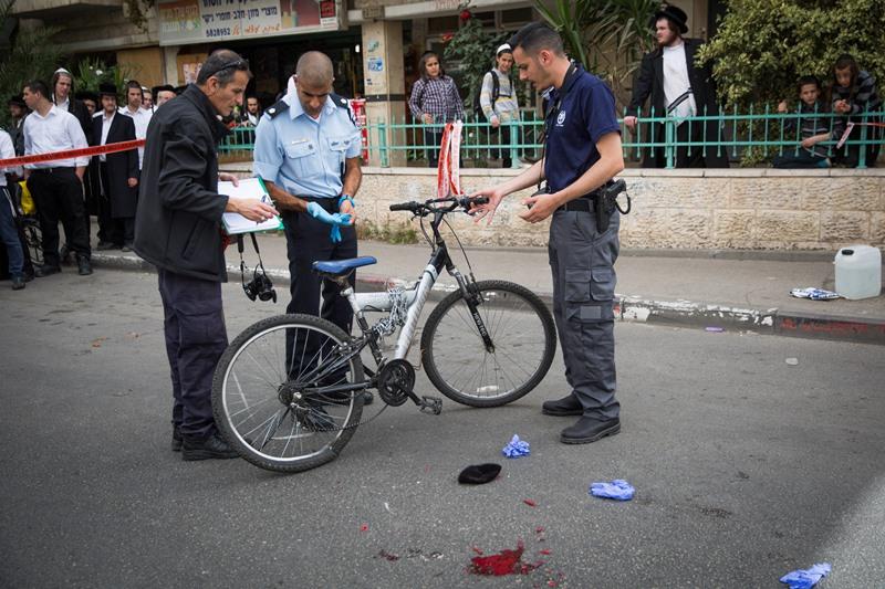 ביתר: הולך רגל נפצע בינוני-קשה מאופניים חשמליים