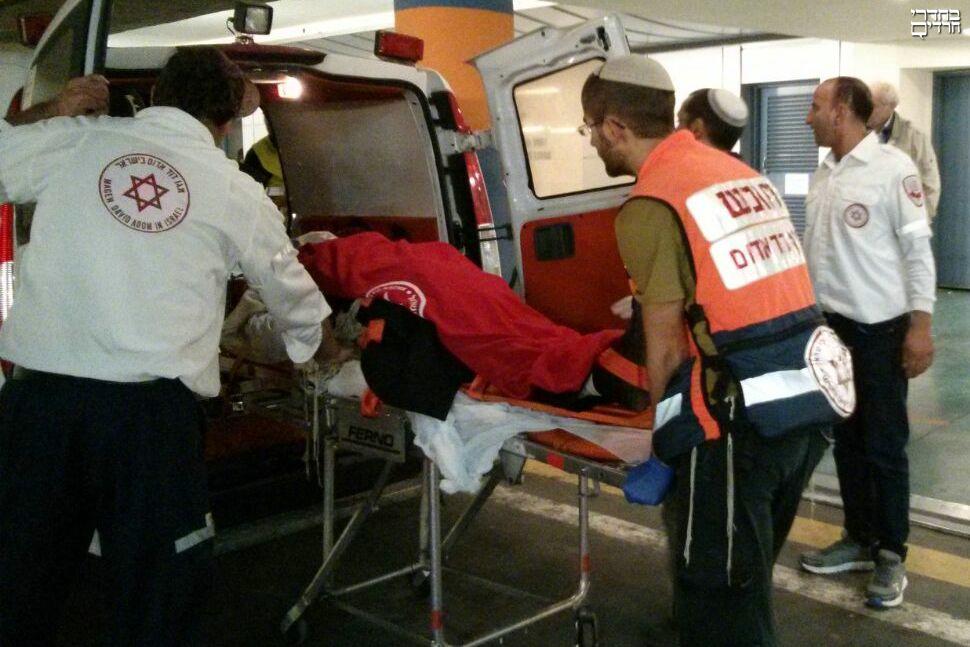 ירושלים: תוך 80 שניות הילד הפצוע טופל