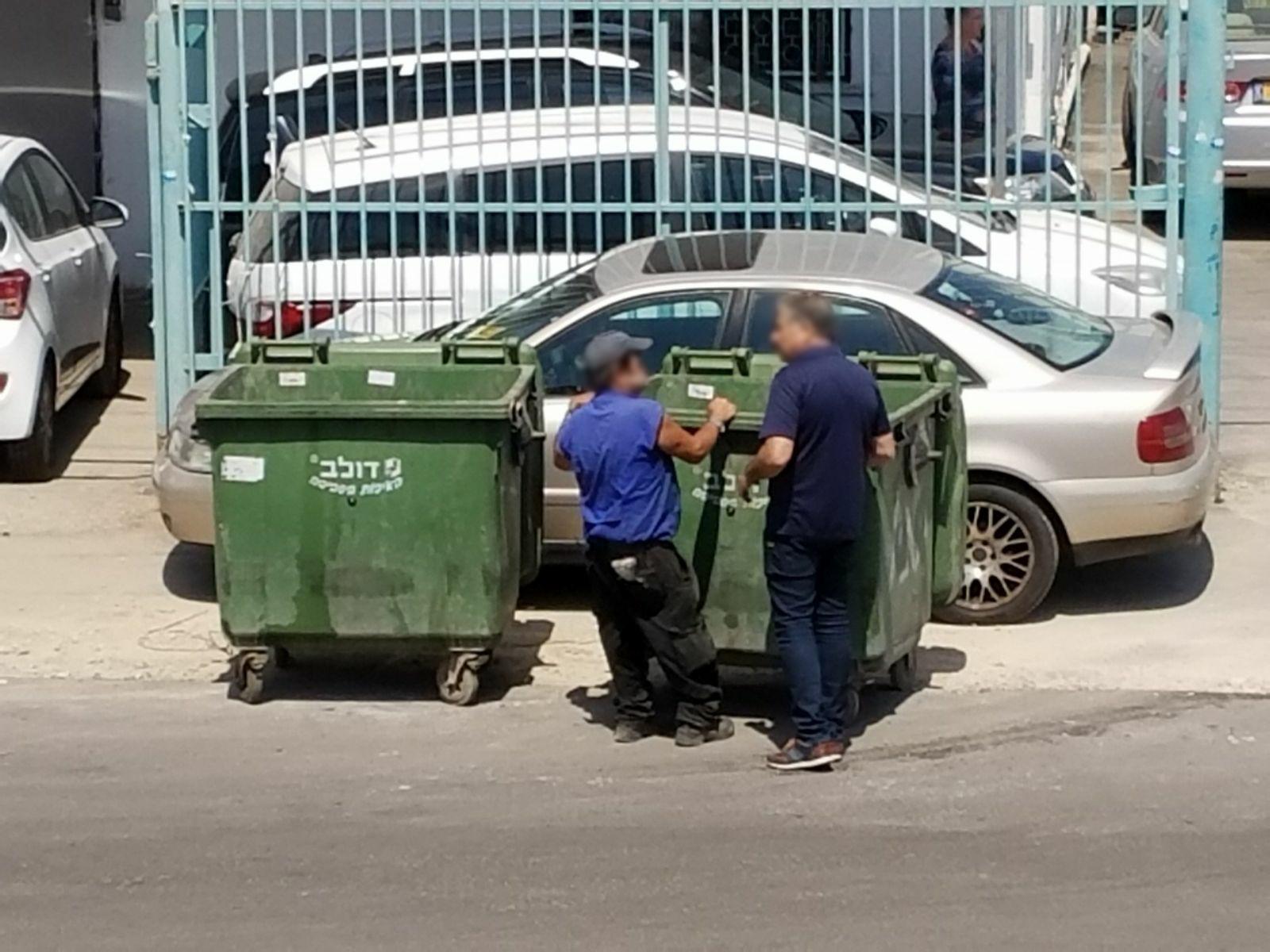 עובדי העירייה הגיעו לאסוף את האשפה בשבת
