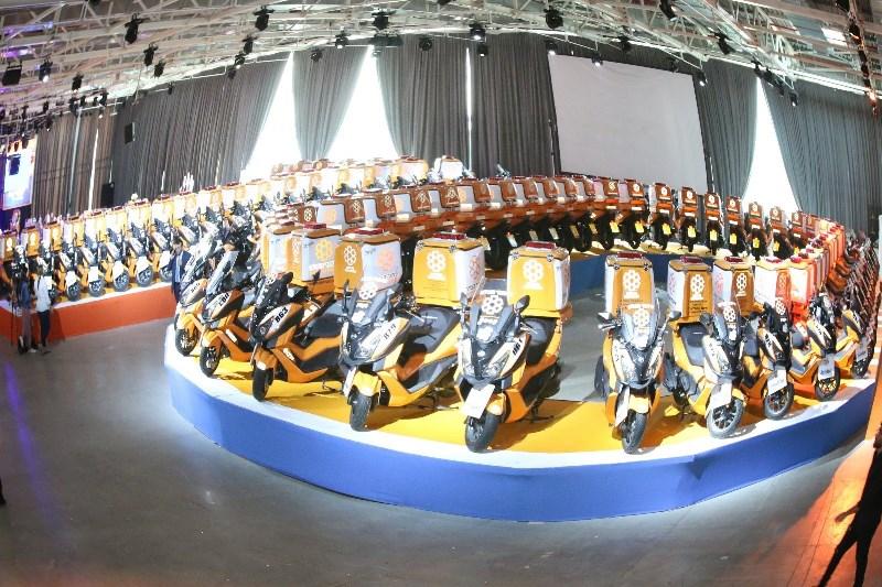 ידידי איחוד הצלה תרמו לארגון 70 אופנועי אמבולנס בסכום של 9 מיליון שקלים
