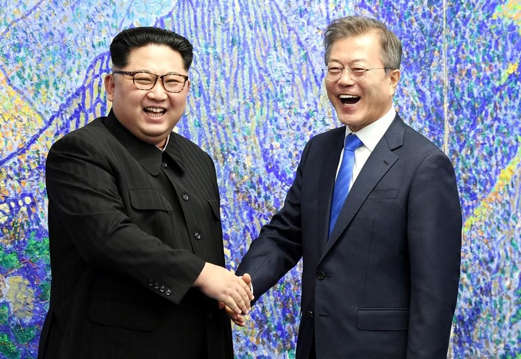 היסטוריה: מנהיגי הצפון והדרום נפגשו בגבול