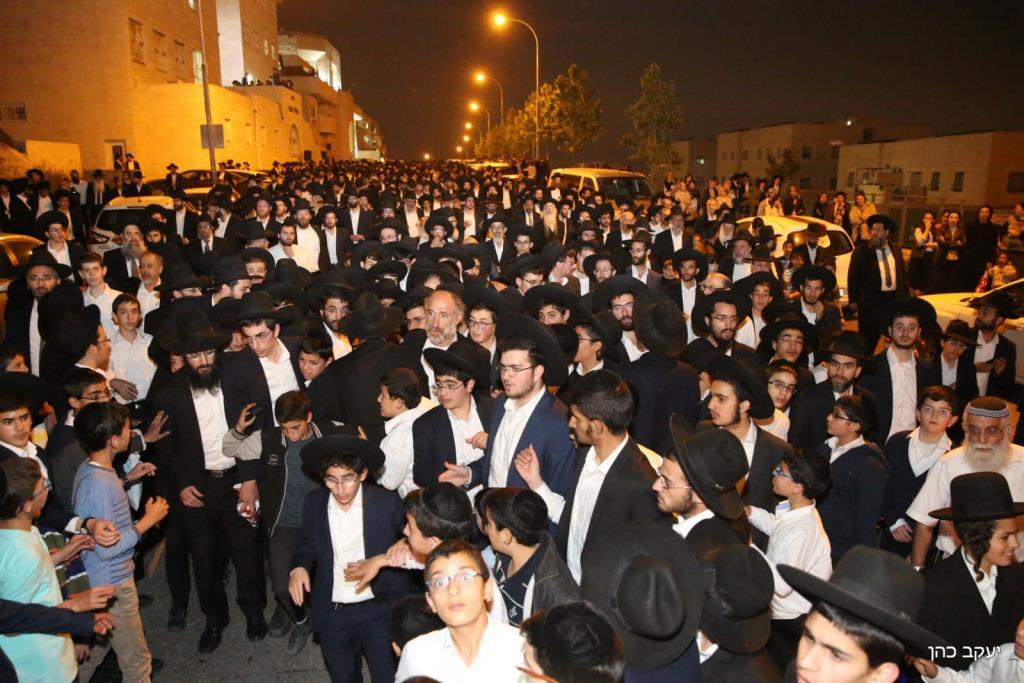 """בצער ובבכי: ירושלים ליוותה למנוחות את הגר""""מ שרים זצ""""ל"""