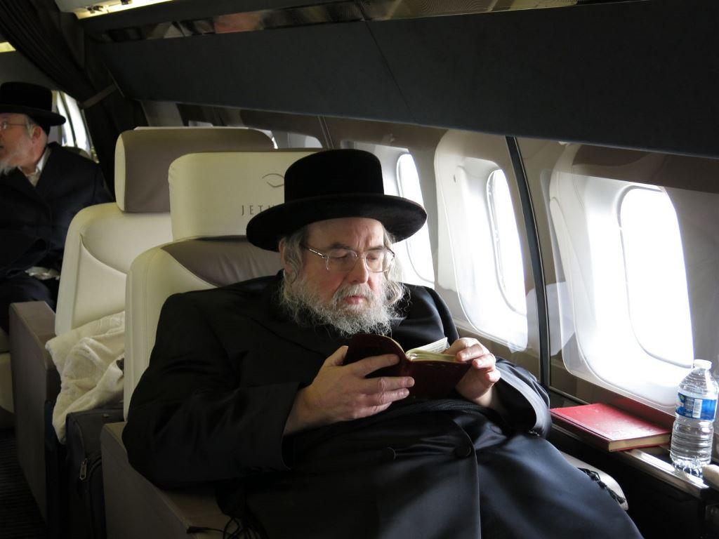 מטוס פרטי ושירה: ההוראה החריגה של הרבי