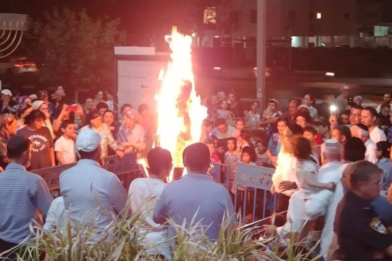 """דרום תל אביב חגגה את ל""""ג בעומר בסימן התחזקות"""