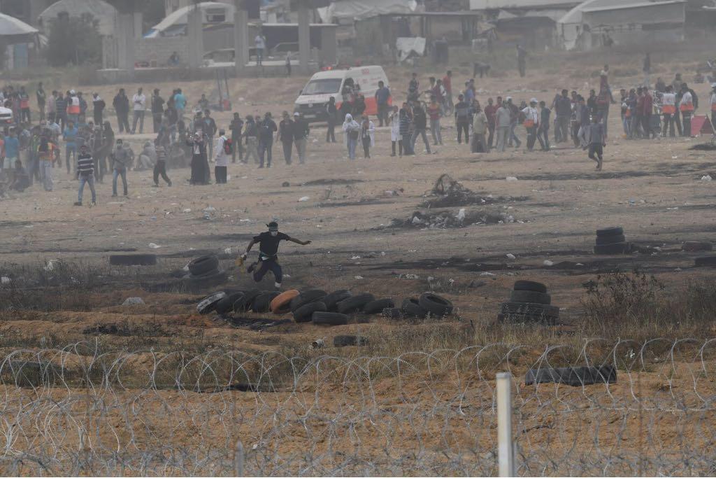 """מהומות על גבול עזה: 2 רחפני צה""""ל נפלו"""