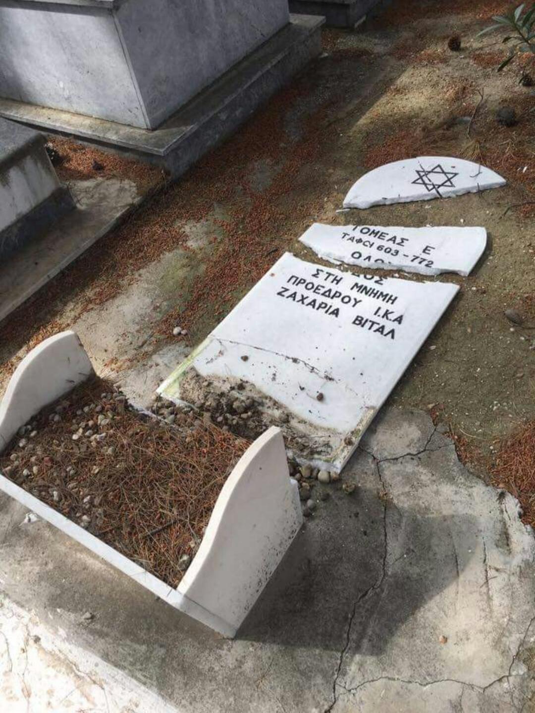 שוב המתים סובלים: מצבות קברי יהודים נופצו