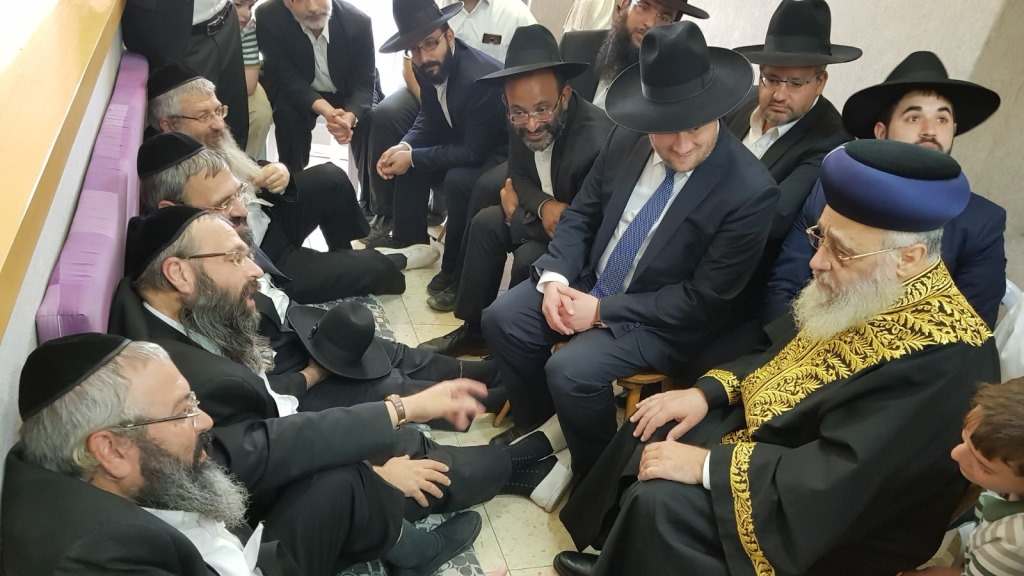 הרבנים ניחמו את בניו של מקים עולה של תורה