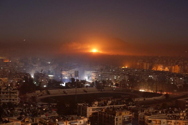 המספרים מאחורי ההפצצה הישראלית בסוריה