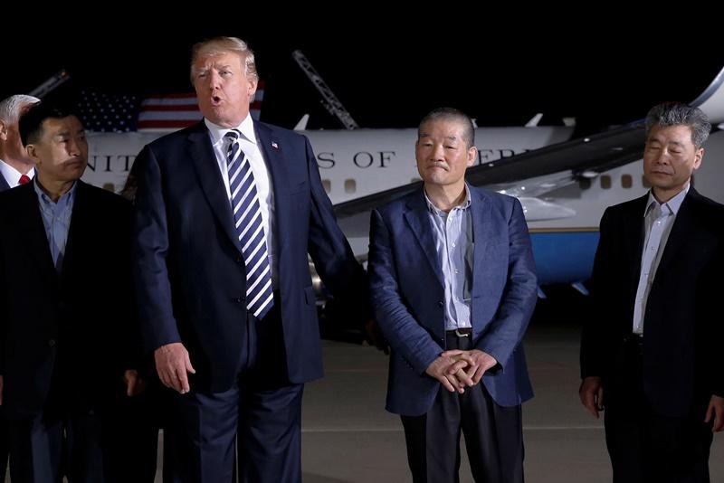 לקראת היסטוריה: הציוץ הדרמטי של טראמפ