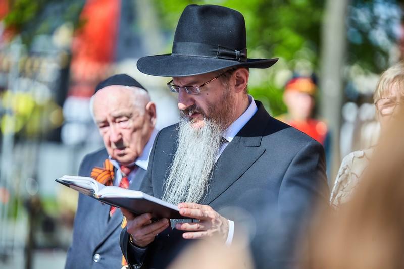 בכיכר האדומה: היהודים חגגו ניצחון