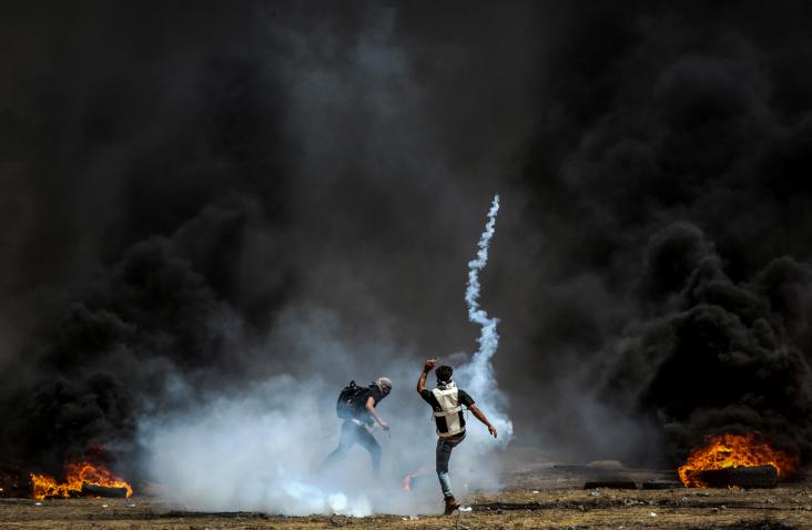 """עם צאת השבת: צה""""ל חשף והפציץ מנהרת טרור בסמוך למעבר ארז"""