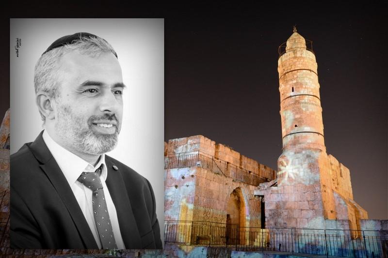 ביום חגה: חגי ימיני שר לירושלים • האזינו