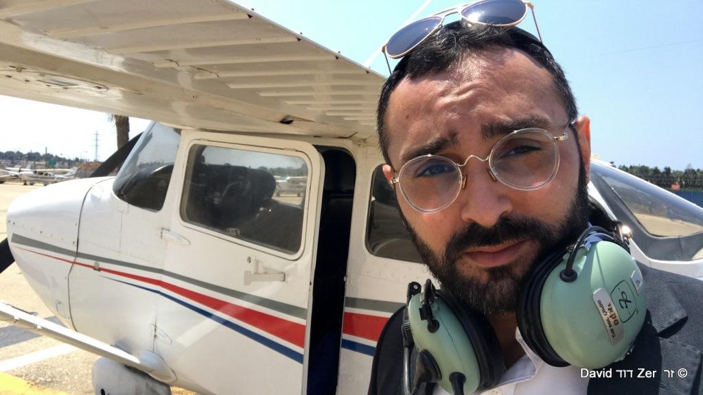 טיסת סולו ראשונה של הצלם החרדי: זה מה שיצא • צפו