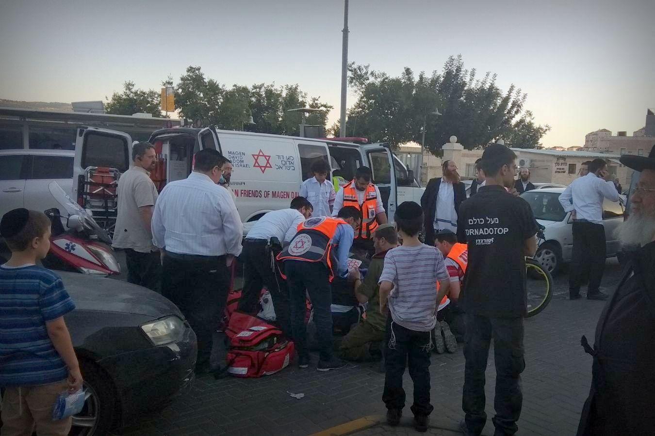 ביתר-עילית: נפטר הילד שנפצע בתאונת דרכים