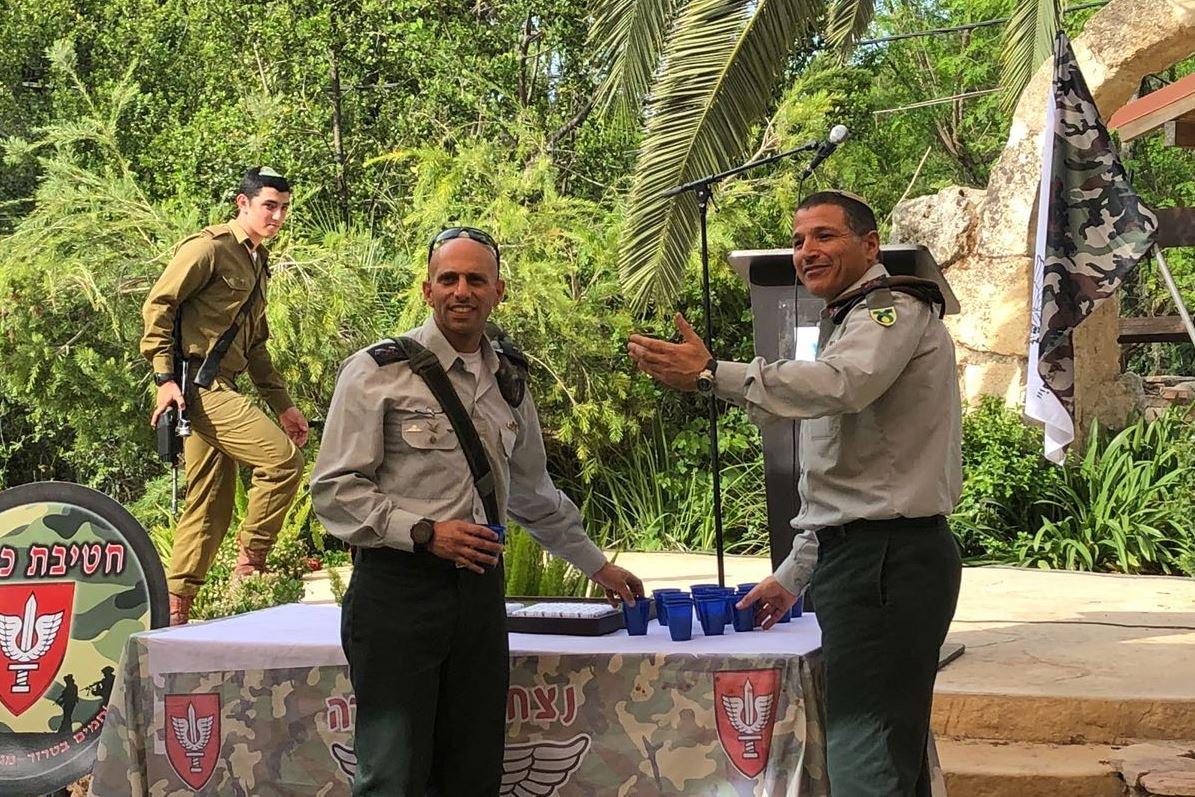 מפקד חדש לגדוד החרדי: גיבור שהשתלט על מחבל בידיים חשופות