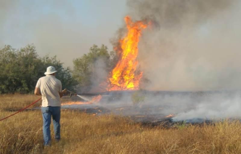 שריפת ענק בבית שמש; בית כנסת עלה בלהבות