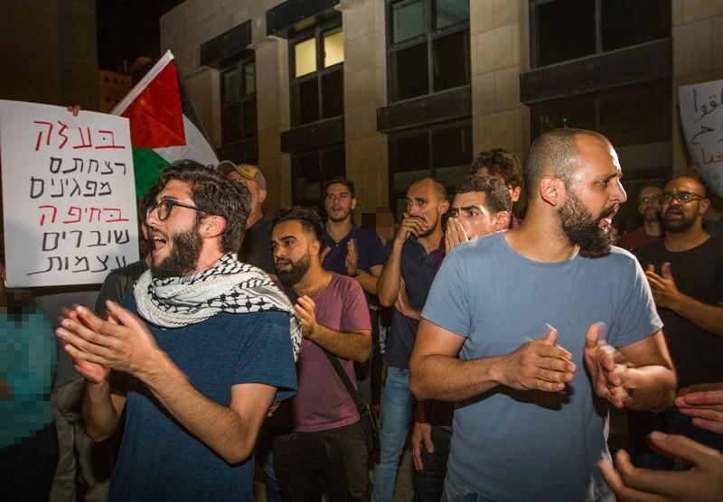 סטירת לחי למשטרה: העצורים שוחררו