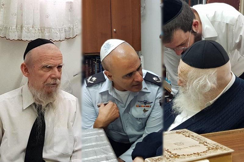"""בכיר שב""""ס נפגש עם גדולי ישראל בבני ברק והתחייב: """"נפעל בנושא"""""""