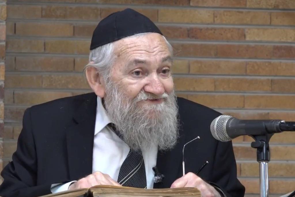 אבל בישיבה: זקן רבניה הלך לעולמו בגיל 82