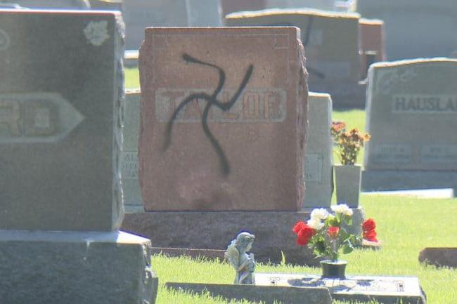 חשב שמדובר בבית קברות יהודי והשחית אותו