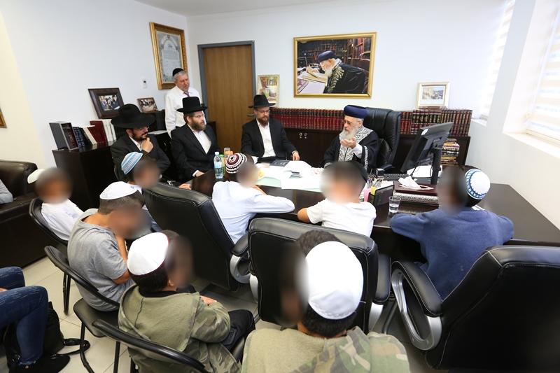 ילדים יהודים שחולצו מכפרים ערביים - התקבלו אצל הראשל