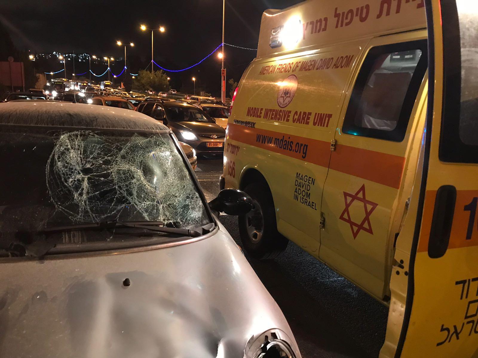 ירושלים • בנות סמינר נפצעו בתאונת דרכים