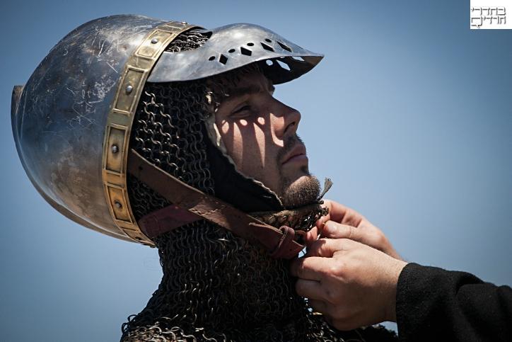היישר מימי הצלבנים: צפו בקרב היסטורי בצפון
