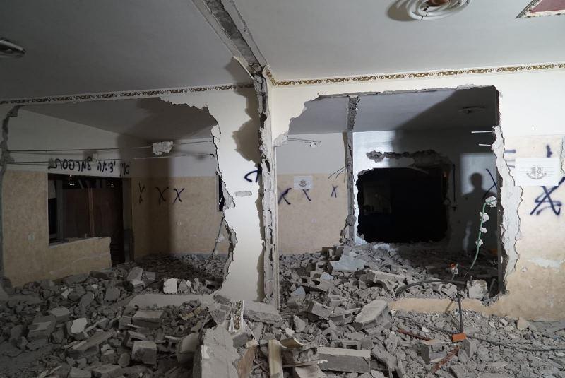 שלושה חודשים אחרי: דירת המחבל נהרסה