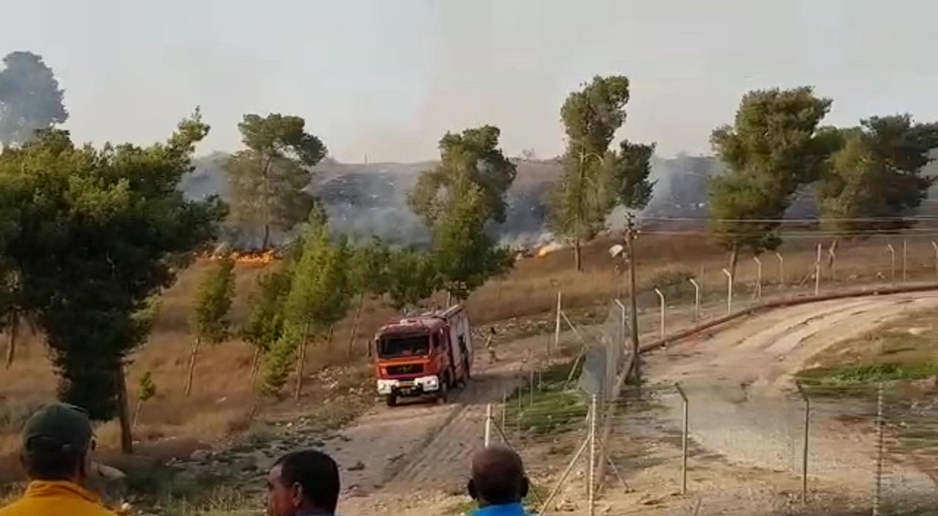 לוחמי האש נאבקים בעשרות דליקות בדרום • תיעוד מהשטח