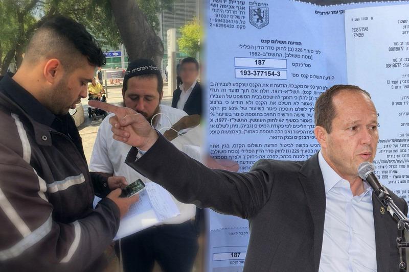 """סערת התפילין • עיריית ירושלים נכנעת: נבטל הדו""""ח לשליח חב""""ד"""