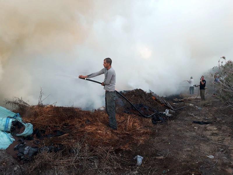טרור העפיפונים בירידה? 15 שריפות בדרום