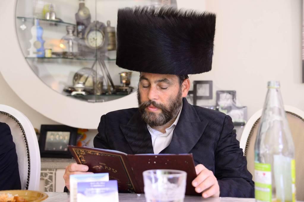 גדולי ישראל בשבע ברכות לבנו של שוקי לרר • תיעוד