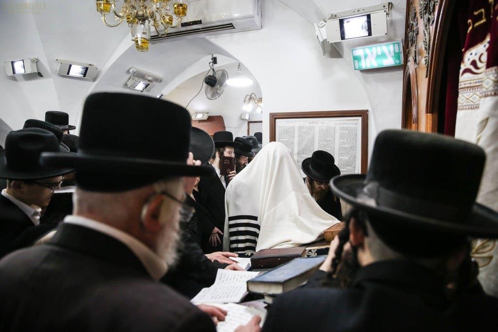 אנשי ירושלים זעקו במירון על חוק הגיוס החדש