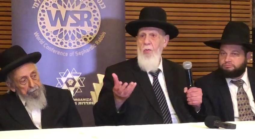 נשיא המועצת נגד הרבנים הספרדים: מסכנים