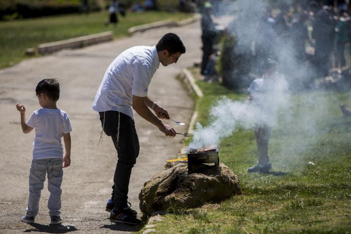ירושלים: העירייה תקנוס משליכי לכלוך בפארקים