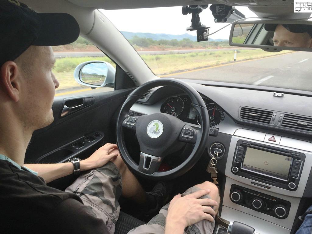 צפו: רכב חדש ללא נהג שמותאם גם לכבישים משובשים