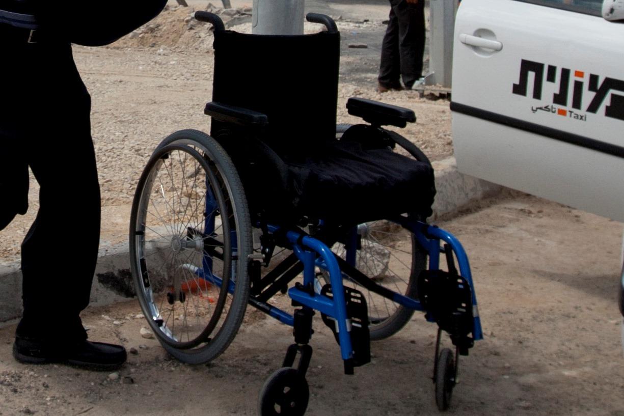 כיסא גלגלים, צילום: פלאש 90