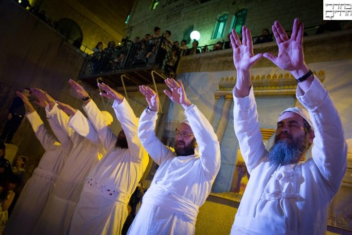 מרהיב: עבודת כהנים בבית המקדש • צפו