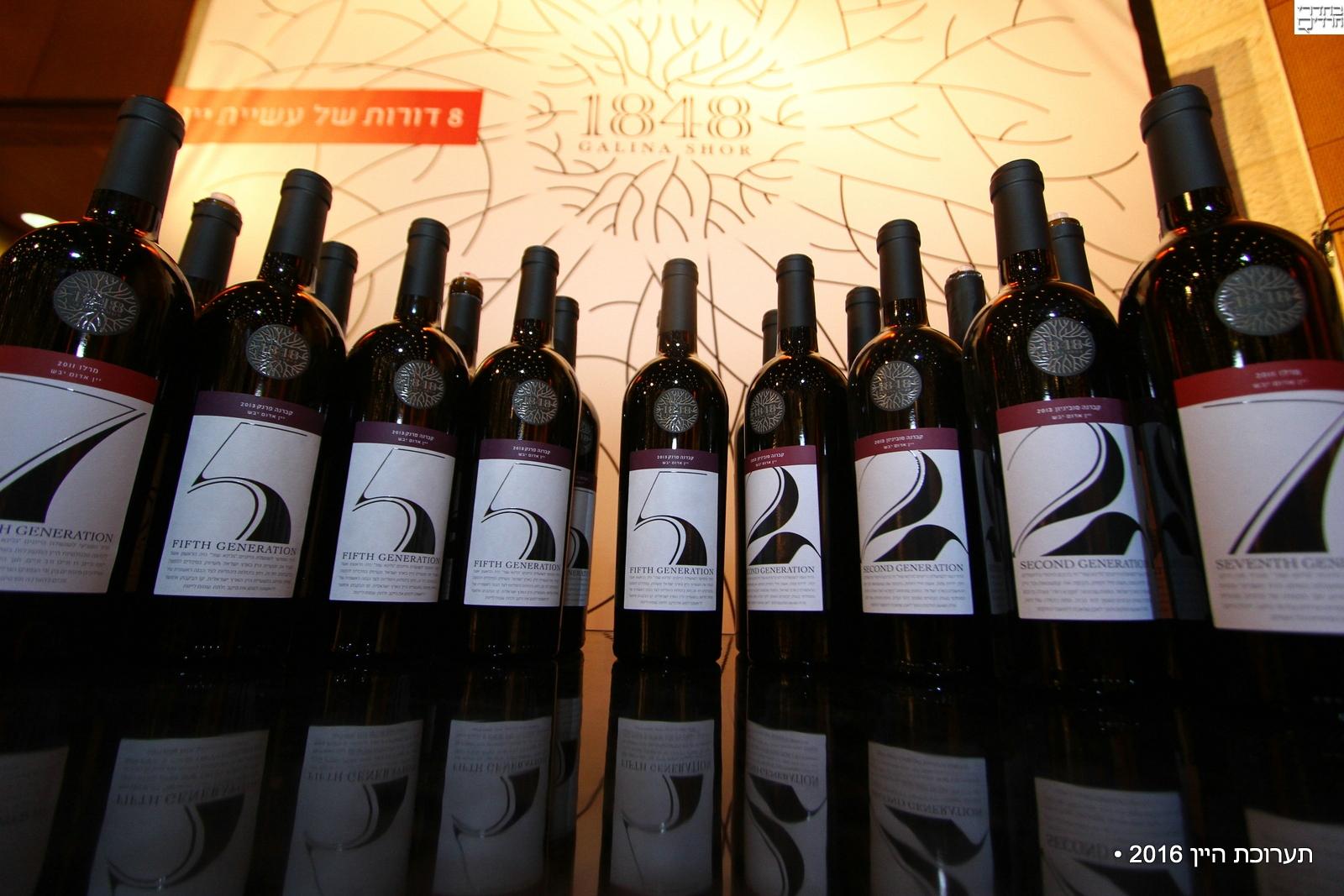 40 יקבים, למעלה מעשרה יינות חדשים