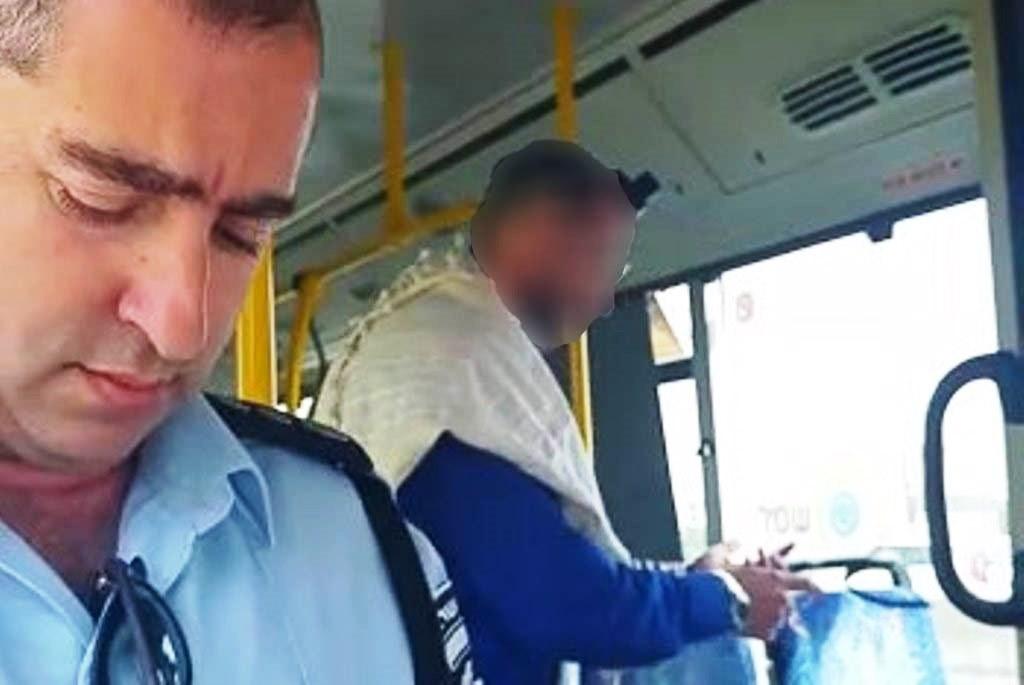 טלית תפילין וסלולר בנהיגה באוטובוס