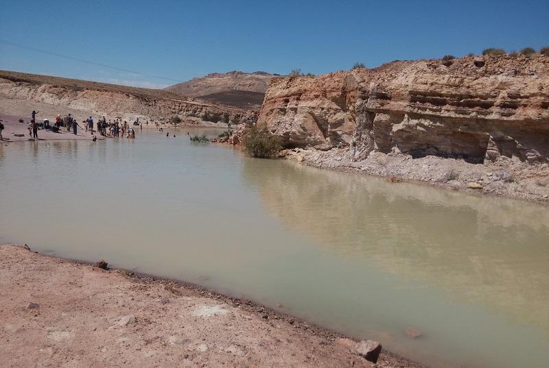 עכשיו זה הזמן: האגם של מכתש רמון
