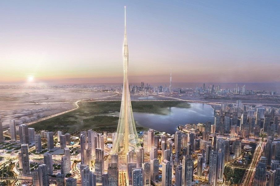 צפו: כך ייראה המגדל הגבוה בעולם בדובאי