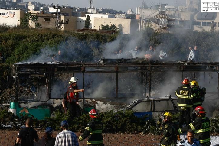 נעצרו מתכנני פיגוע המטען באוטובוס בירושלים